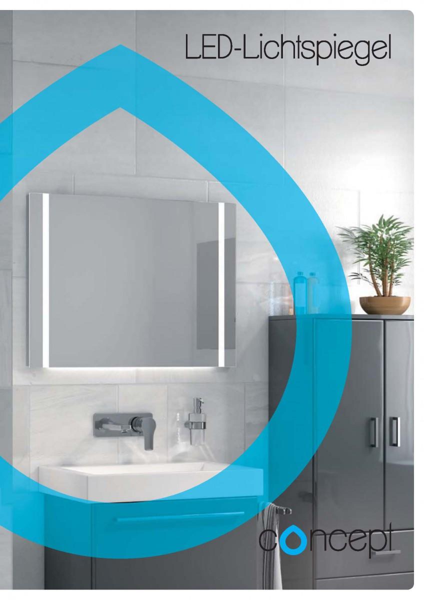 concept 100 und concept 200 led lichtspiegel bergmann franz. Black Bedroom Furniture Sets. Home Design Ideas