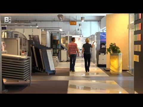 video fliesenausstellung bergmann franz. Black Bedroom Furniture Sets. Home Design Ideas
